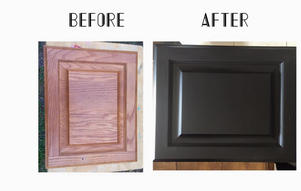 oak kitchen cabinets refinishing