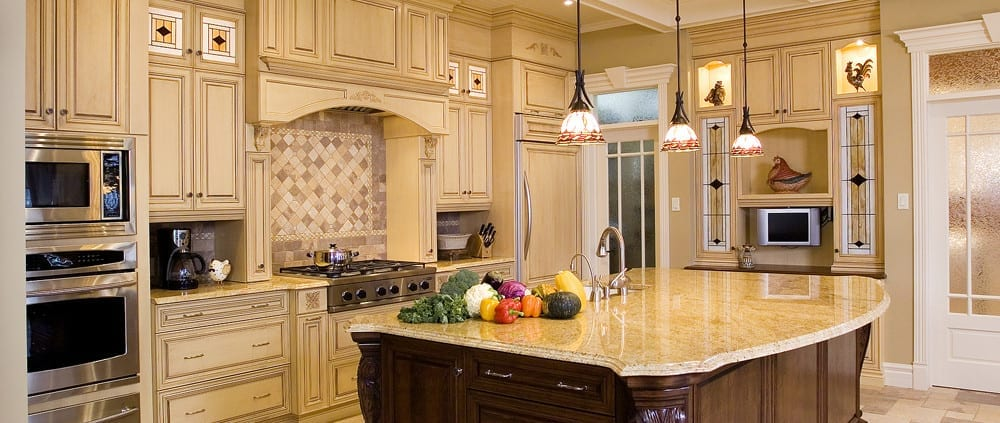 Kitchen cabinet painting and antiquing company