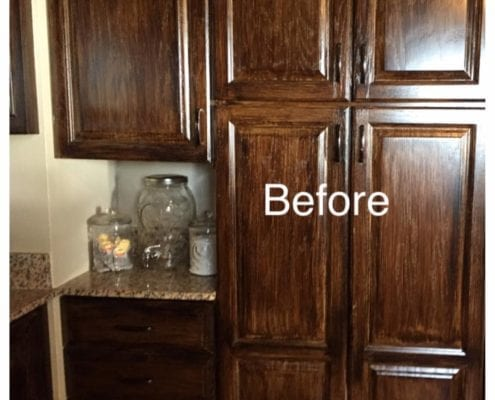 before hutchinson island 495x400 - Distressed Kitchen Cabinets