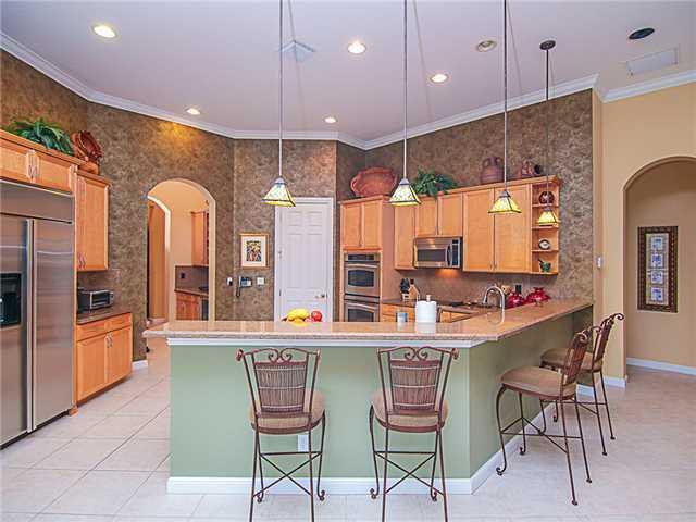 Kitchen - Regan Residence Palm City Florida