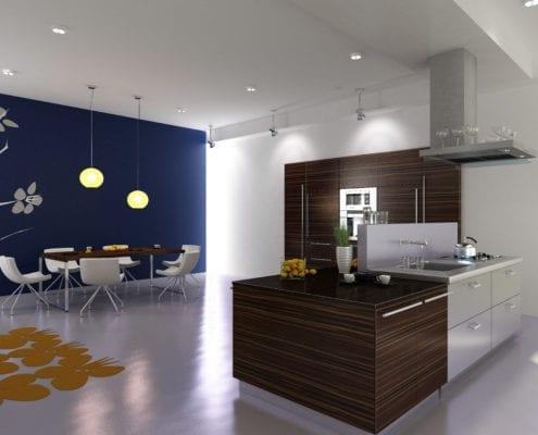 AdobeStock 14508232 495x400 - Distressed Kitchen Cabinets