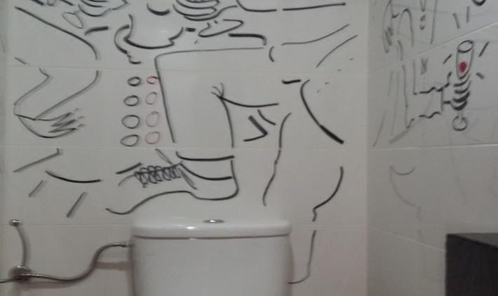 IMG 0123 710x423 - Wild Ideas for Decorating Your Bathroom