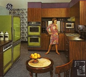 avocado appliances 300x267 - Down Memory Lane: Generational Paint Trends