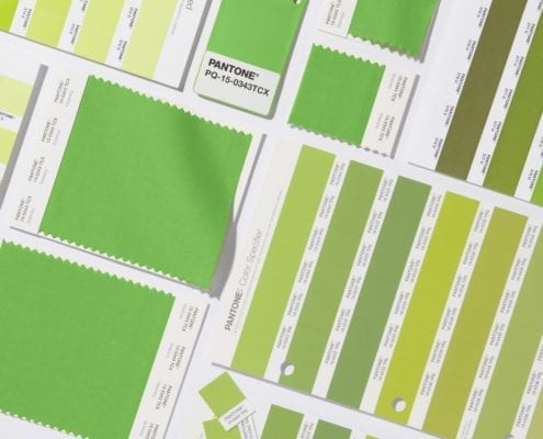 Pantone - Color of the year - Shades of green