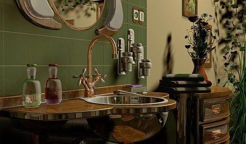 bathroom 1982011 640 495x289 - Distressed Kitchen Cabinets