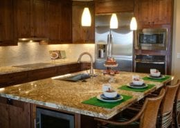 Antiqued Kitchen Cabinets   Jaworski Painting
