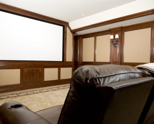 home theater tech tips 495x400 - Distressed Kitchen Cabinets